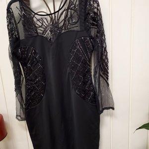 Dresses & Skirts - Sequence black dress